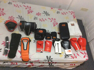 Brand new boxing gear for sale (never worn)