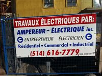 MAITRE ELECTRICIEN &&& MASTER ELECTRICIAN (514) 616-7779