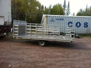 ATTENTION HUNTERS: ALUM CARGO TRAILER 8 X 14 FOR SALE