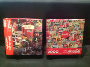 Casse-tête collection Coca-Cola