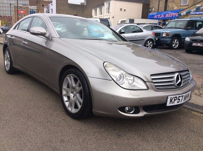2007 MERCEDES CLS DIESEL 7 SPEED AUTO FULL SERVICE HISTORY TWO KEYS SAT NAV DVD CD EVERY EXTRA!!