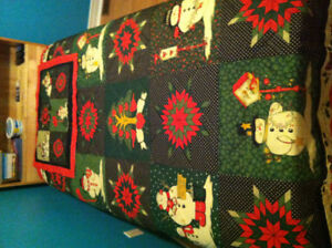 Christmas/Winter comforter for twin bed