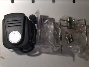 BBQ Rotisserie Drive Motor/brackets with screws - All new
