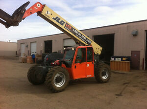 ZOOM BOOMS/TELEHANDLERS/AERIAL LIFTS for RENT -Edmonton and Area