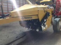 Wolverine Extreme Rotary Ditcher and Icon Ag11 scraper