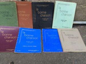 Les 10 Cahiers  de la bonne chanson  à vendre. Saguenay Saguenay-Lac-Saint-Jean image 2