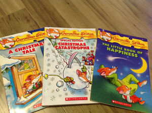 Geronimo Stilton books - hardcover and softcover