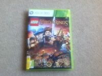 Lego Lord of the Rings Xbox 360 game