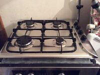 Hotpoint gas hob and double electric oven