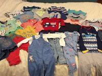 Fantastic boys clothes bundle! 6-9 months
