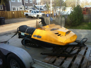 1985 Ski-doo 377 MUST SELL TODAY
