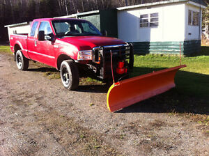 truck and snow plow Prince George British Columbia image 1