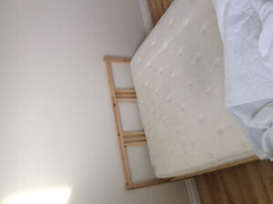 Double Mattress and Frame