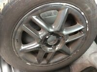 Renault 4x100 Alloys, With 195/50/15 Uniroyal Tyres