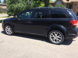2013 DODGE JOURNEY CREW 3.6, ACCIDENT FREE, ONE OWNER