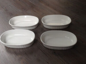 Corningware French White 23-Ounce Oval Dish