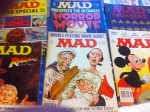 i buy mad magazines 1960-1990 in good shape,& blu ray movies