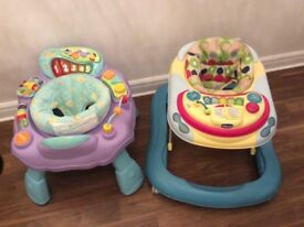 Chicco Baby Walker & Blossom Farm Activity Centre (will separate)