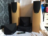 Yamaha RX-V657 and Mission Speakers