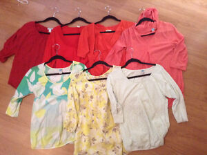 Old navy maternity tops lot