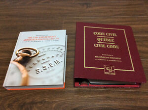 Business Law and Quebec Civil code. CITT / CCLP required