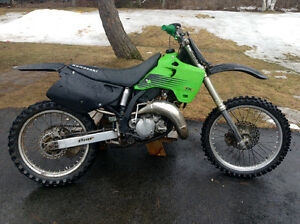 Kx 125 looking to trade for a sled