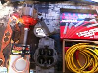 350c.i. Ignition parts/ holley carb