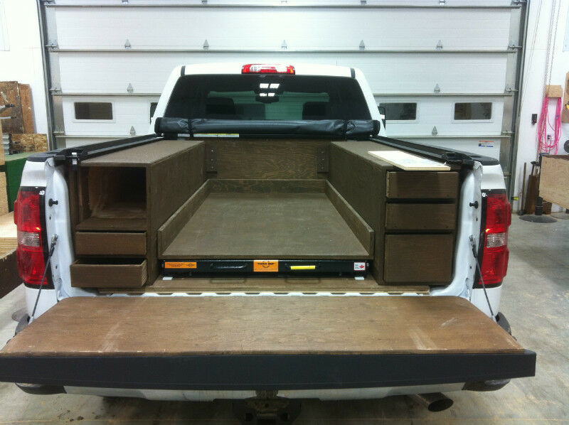 Wood Truck Tops ~ Wood truck box liners and tool boxes other parts