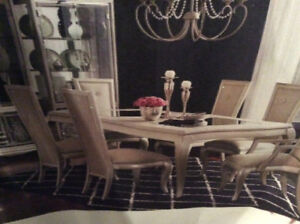 Designer High-End Dining Table Michael Amini Jane Seymour Design