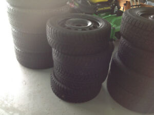 Winter tires on rims for sale SOL D