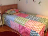 Twin bed with drawer 2nd bed, 2 mattreses