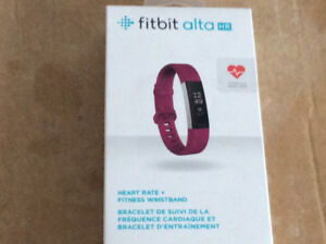 FIBIT ALTA  HEART RATE AND FITNESS WRISTBAND