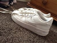 Nike Airforce 1's.