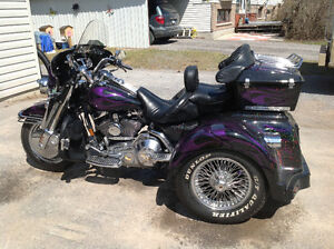 Trike road king Harley Davison