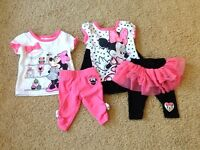 Baby Girl Minnie Mouse set