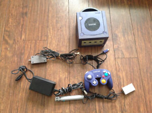 Nintendo GameCube With Controller, 4 Games and Hook Ups