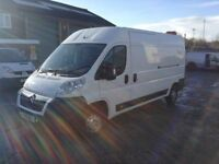 2012 Citroen relay 2.2 hdi enterprise 130 bhp lwb with a/c only 70k no vat