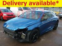 2011 Volkswagen Scirocco R DSG 2.0 DAMAGED REPAIRABLE SALVAGE