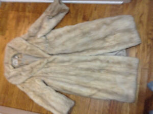 White mink coat for sale London Ontario image 1