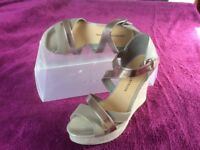M & S Limited Collection Wedge Sandals Size 6.5 (40