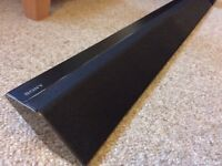 Sony ct780 sound bar and subwoofer
