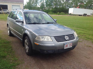 2002 Volkswagen Passat GLX Wagon 1 week only - $ 3500