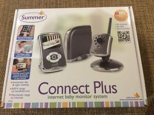 BRAND NEW Summer Connect Plus Baby monitor, sealed in the box
