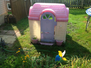 Children outdoor playhouse