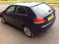 Audi A3 2005 model 1.6 fsi great clean car drives great don't miss out grat examples!!!!