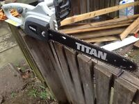 TITAN ELECTRIC CHAINSAW