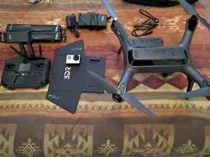 3DR Solo Drone with Gopro Hero 3, extra battery and accessories