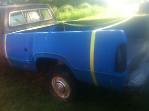 72-80 Dodge truck box 8 foot