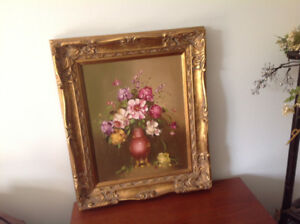 Circa 1950'S/ Beautiful Oil Painting/Mint Condition