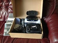 PSP, Mad Catz Hardcase and selection of games and films